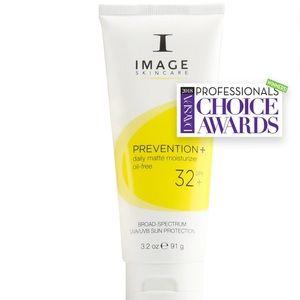 NIB PREVENTION+ daily matte moisturizer SPF 32+